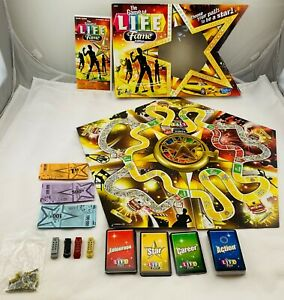 2002 Game of Life Fame Edition by Hasbro Complete in Great Condition FREE SHIP
