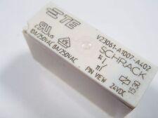 Relais 24V 1xEIN 240V 10A 8A SCHRACK Siemens V23061-A1007-A402 #10R85