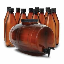 2 Gal Starter Beer Brewing System Set Homebrewing Fermenter Craft Equipment Kit