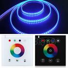 12-24V 4 Channel RGB LED Light Controller Dimmer Wall-mounted Touch Switch Panel
