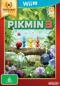 Pikmin 3 III Family Kids Action Adventure Game For Nintendo Wii U NWU PAL