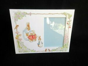 """C R Gibson Photo Frame 3 1/2"""" x 5"""" Beatrix Potter Mother w/Babies"""