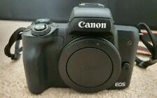 Canon EOS M50 Mirrorless Digital Camera with 15-45mm Lens - Black (2680C011)