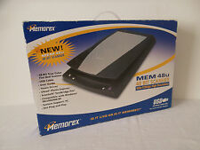 Memorex MEM48U Ultra-slim Flatbed 48-Bit True Color USB Scanner 600x1200dpi NEW