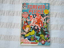 FOREVER PEOPLE #4 COMIC early Darkseid; Kirby Art