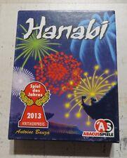 Hanabi, Spiel des Jahres 2013, Kartenspiel Spielkarten Abacus Spiele, ab 8 Jahre