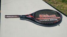 NICE! Vintage Wilson GRAPHITE MATRIX Midsize Tennis Racquet L4 4-1/2 16x19 Black