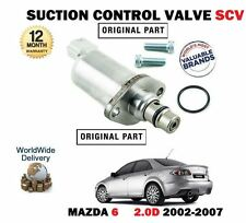 FOR MAZDA 6 GG 2.0 Di 2002-2007 NEW FUEL PUMP SUCTION CONTROL VALVE SCV