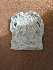 Girls Mint Green And Floral Dress Age 18-24 Months