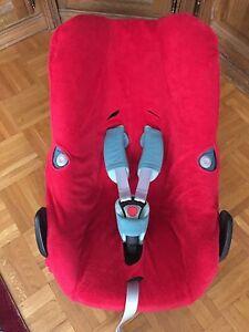 Sommerbezug Schonbezug Frottee für Maxi-cosi Pebble, Plus, Pro + Rock NEU rot