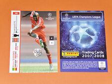 MOMO SISSOKO LIVERPOOL REDS FOOTBALL CARDS PANINI CHAMPIONS LEAGUE 2007-2008