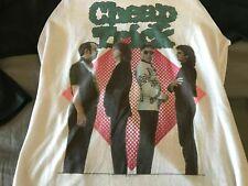 Vintage Cheap Trick one on one 1982 tour raglan concert shirt Rare