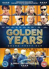 Golden Years Grand Theft OAP 2016 Bernard Hill Sue Johnston R2 DVD in Hand
