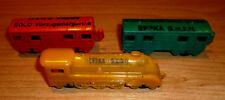 Margarina personaggi zug-lok-2 vagoni ferroviari. A.M. tempo bambini.ca.65 anni S. Foto. TOP!