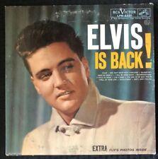 ELVIS PRESLEY Elvis Is Back Album LP 1960 LPM-2231 - VG+/EX Vinyl