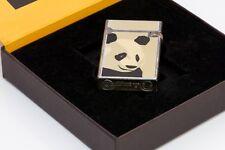 Vintage S.T. Dupont Paris Fantaisies Enamel Panda Lighter
