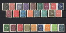 PORTUGAL , 1943 , 1948 / 49 , scarce full set DEFINITIVES and ADDITIONELS , MNH