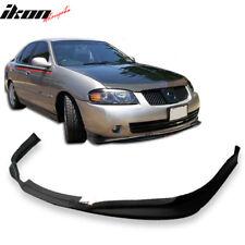 Fits 02-03 Nissan Sentra 4Dr Sedan SER SE-R Spec-V Front Bumper Lip Urethane
