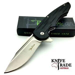 Benchmark Linerlock BMK115 Folding Pocket Knife G10 Hanlde Stainless Blade EDC