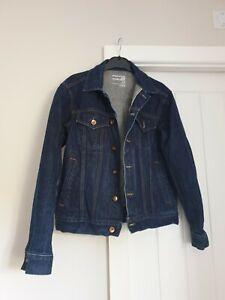 Mens gap japanese selvedge denim jacket medium