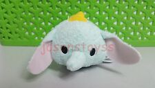 3.5'' Disney Tsum Mini Dumbo Doll Soft Stuffed Plush Toy With Chain Kids Gift