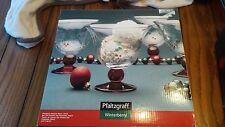 Pfaltzgraff Winterberry Pedestal Dessert Bowl Set Of 4 New in Box 247-746-00