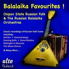 Osipov State Russian Folk Orchestra - Balalaika Favorites [New CD]