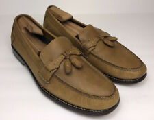 HS Trask Mens Brown Leather Loafer Size 12 M