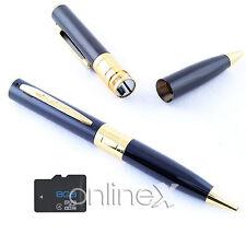 Bolígrafo Espía Cámara Oculta Full HD 1286x960 + Tarjeta 8GB a1049