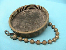 1 AMPHENOL METAL PROTECTIVE CAP WITH BEAD CHAIN 97-60-36 SIZE 36 FOR CONNECTOR