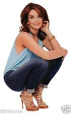 TINA FEY Saturday Night Live TV Star 30 ROCK -Window Art Sun-catcher Decal Cling