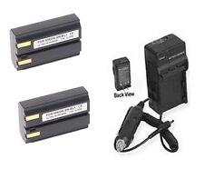 2 EN-EL1 Batteries + Charger for Nikon 775 880 885 995 4300 4500 4800 5000 5400