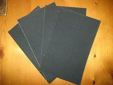 4 Sheets EMERY CLOTH - (1 Coarse, 1 Medium, 2 Fine) - 230mm x 140mm approx
