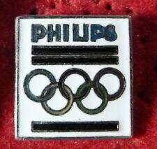 RARE PIN'S JEUX OLYMPIQUES PHILIPS EGF