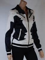 veste blouson femme GSUS  ladies jacket black taille XS ( T 34 )