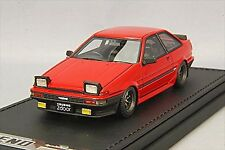 ignition model 1/43 Toyota Sprinter Trueno AE86 2Door GTV Red IG0482