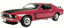 Welly 1:18 Ford Mustang Boss 302 1969 Rosso/Nero 12516R.