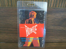 David Bowie Serious Moonlight Tour 1983 - Laminated BACKSTAGE PASS
