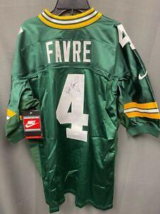Brett Favre #4 Signed Packers NIKE Proline Authentic Jersey AUTO JSA COA