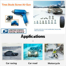 1000 Pcs Car Tire Wheel Winter Studs Screw Snow Spikes+Installation Air Gun Tool