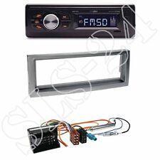 Caliber RMD022 (orange) Radio + Citroen C5/Peugeot Blende anthrazit +ISO-Adapter