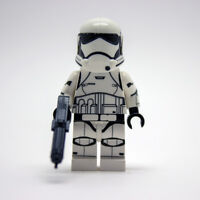 Lego Star Wars Custom First Order Trooper with Printed Head & Blaster