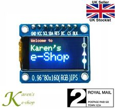 "0.96"" ST7735S 80x160 SPI Colour IPS TFT Display Module for Arduino Raspberry Pi"