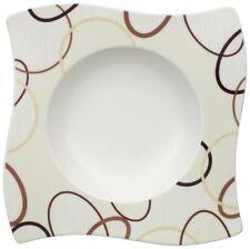 Villeroy & and Boch NEWWAVE ETHNO rimmed soup / dessert bowl 24cm NEW NWL Wave