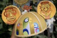 2019 Disney D23 Expo Designer Collection Enchanted Tiki Room Adult Ear Hat SHAG