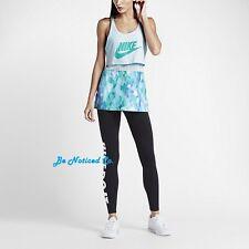 Nike Sportswear Women's Tank Top XS Blue Jade Gym Casual Training Running New