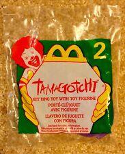 McDonald's Happy Meal Tamagotchi #2 Key Ring Toy w/ Figurine Toy Sealed 1997