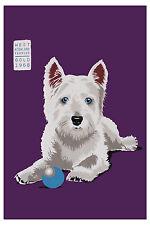 Geschirrtuch Angus West Highland Terrier von Ulster Weavers, Küchenhandtuch Dog
