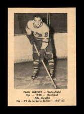 1951 Laval Dairy QSHL #79 Paul Larivee  G X1810692