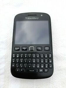 BlackBerry 9720 Smartphone - Black - with tan Tuffluv real leather case
